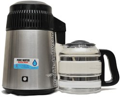 Buy Pure Water Distiller (with glass bottle)