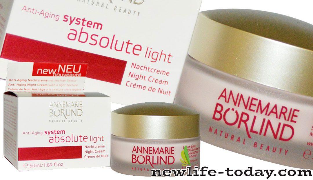 Anti Aging System Absolute Night Cream Light