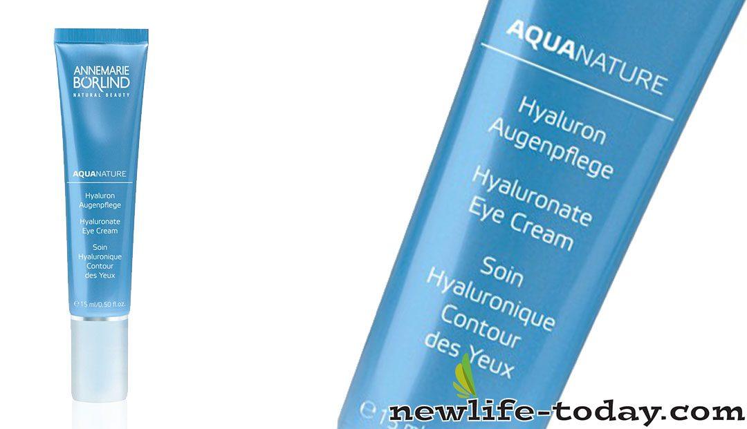 Aquanature Hyaluronate Eye Cream