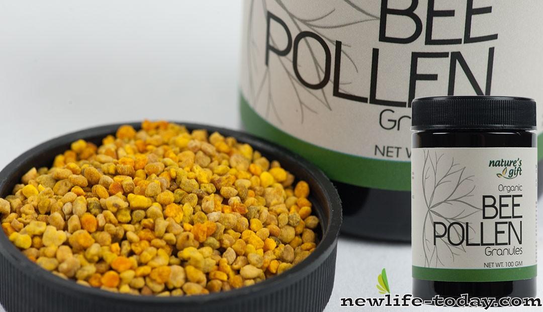 Pure Organic Bee Pollen Granules found in Bee Pollen Granules