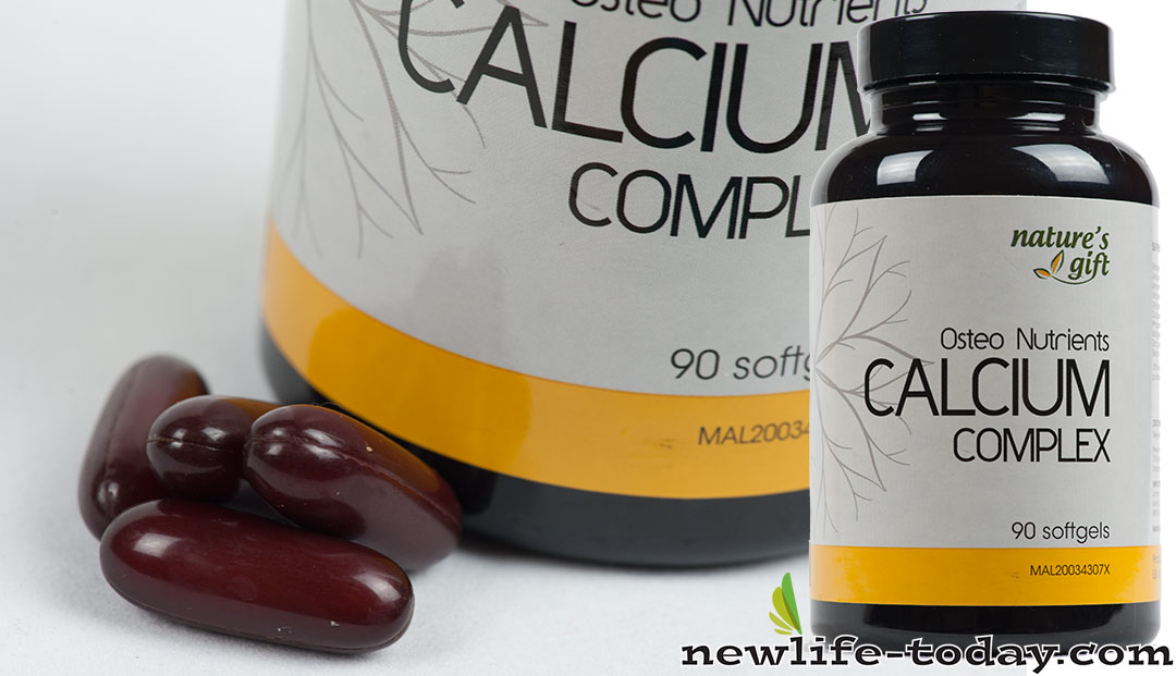 Vitamin B6 found in Calcium Complex with Boron