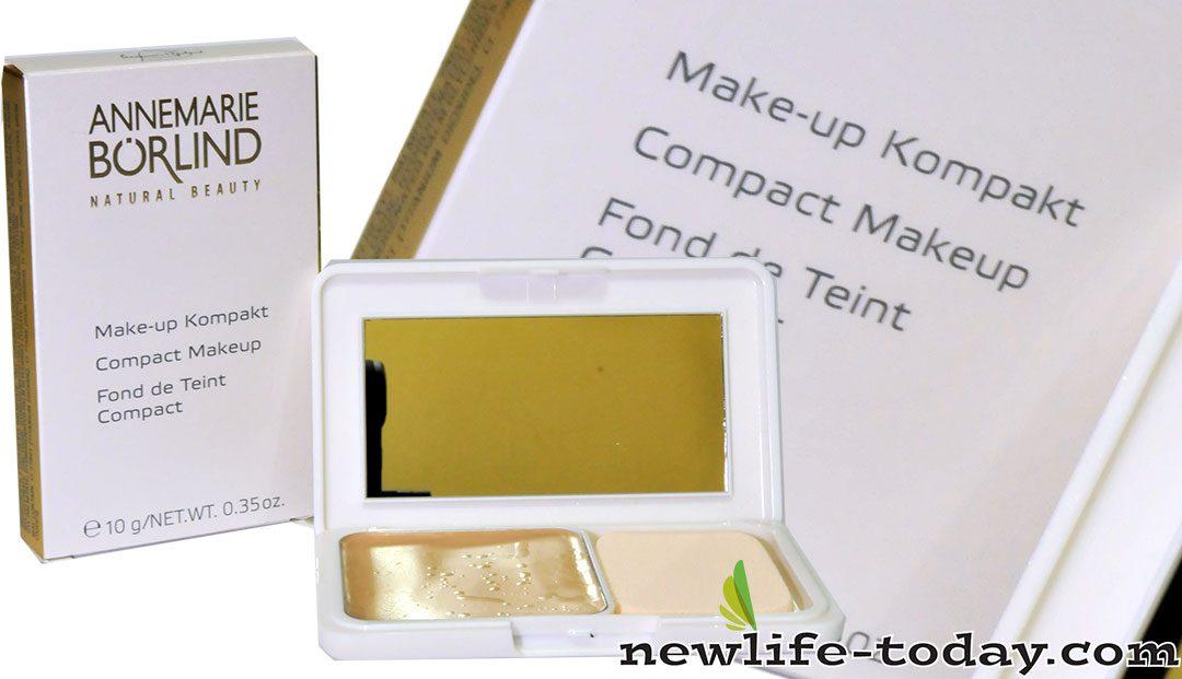 Compact Makeup Almond