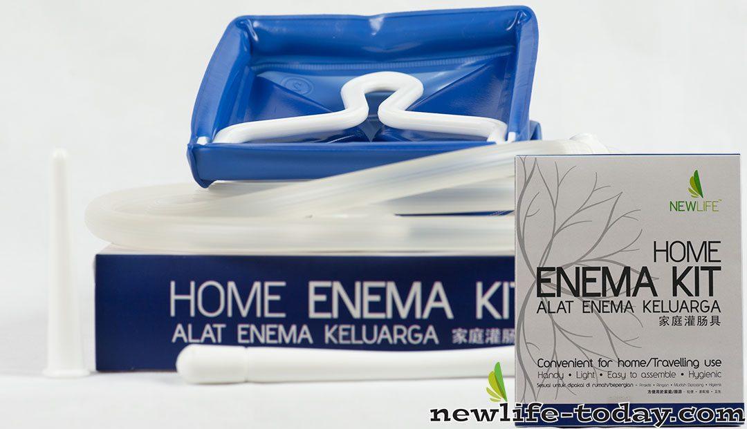 Enema Bag Complete Set