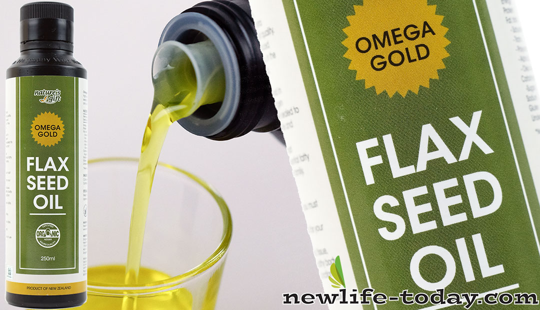 Omega 3 found in Flaxseed Oil Omega Gold