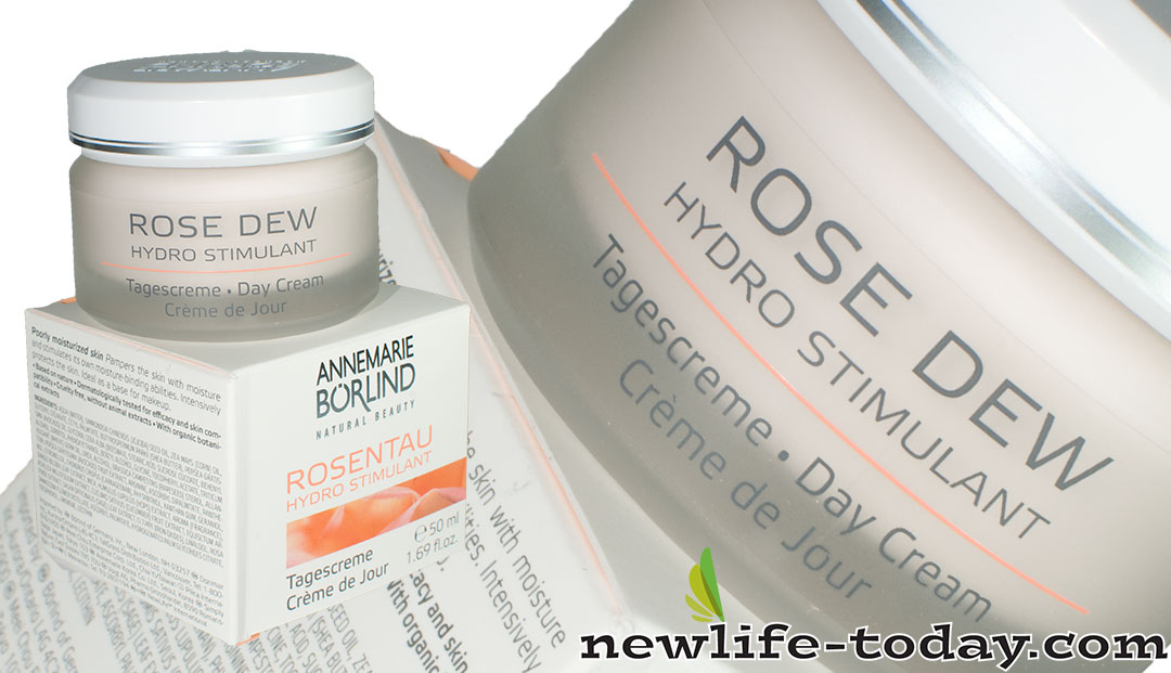 Zinc found in Rose Dew Day Cream