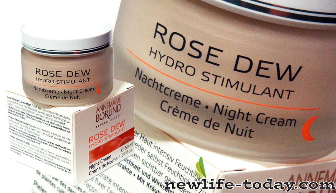 Zinc found in Rose Dew Night Cream