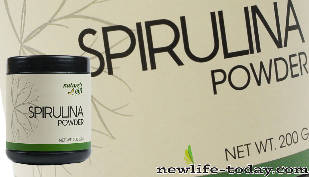 100% Pure Spirulina found in Spirulina Powder