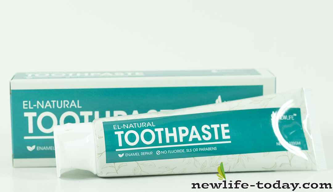 Calcium Carbonate found in Toothpaste El-Natural