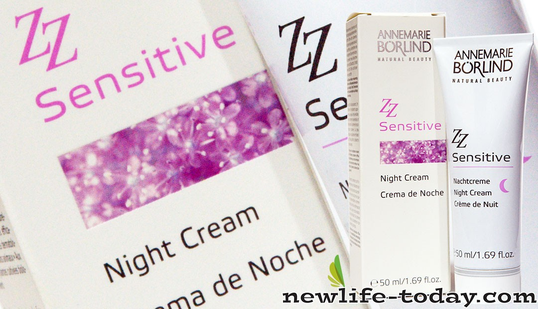Glycerin found in ZZ Sensitive Night Cream